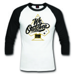 TNS WE OUTCHEA GOLD BLACK RAGLAN